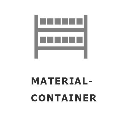 Materialien-Container